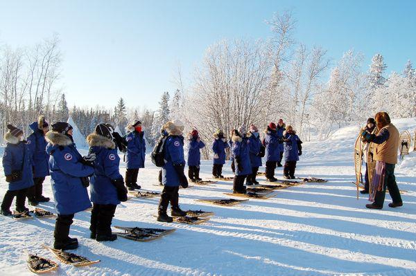 Snowshoeing Einführung