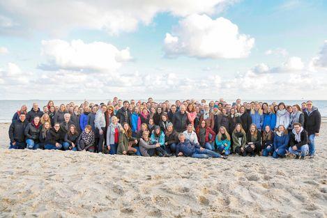 Das CANUSA-Team zusammen mit den Partnern während der CANUSA Days auf Föhr