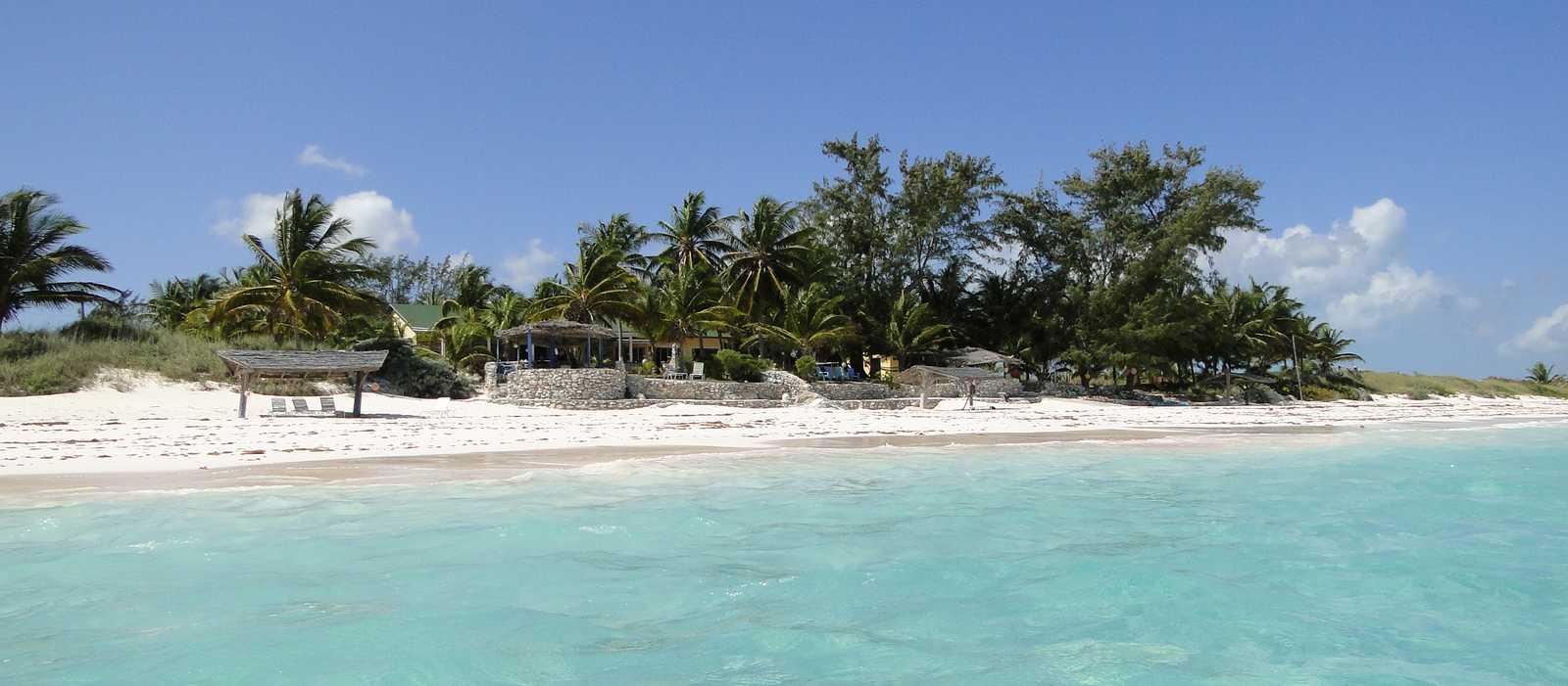 Das Greenwood Beach Resort auf Cat Island