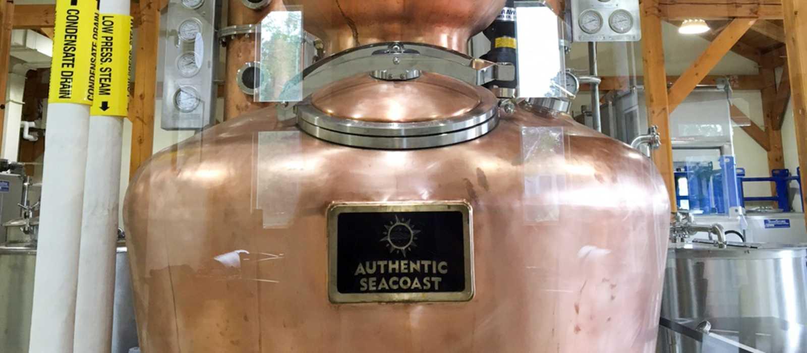 Führung durch die Distillery