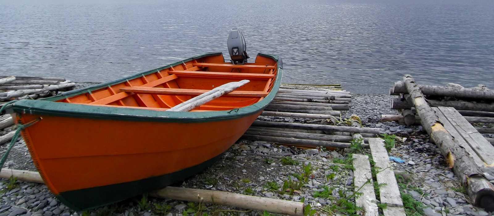 Ein Newfoundland Dory