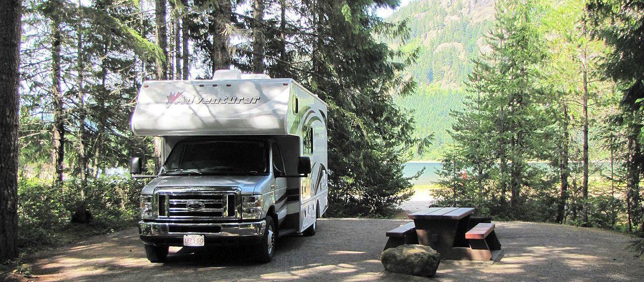 Stellplatz am Buttle Lake Campground