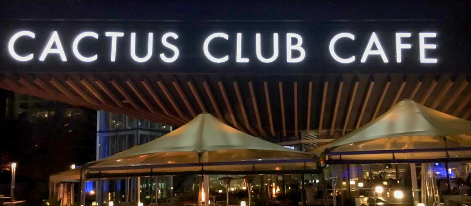 Cactus Club Cafe an der Vancouver Waterfront