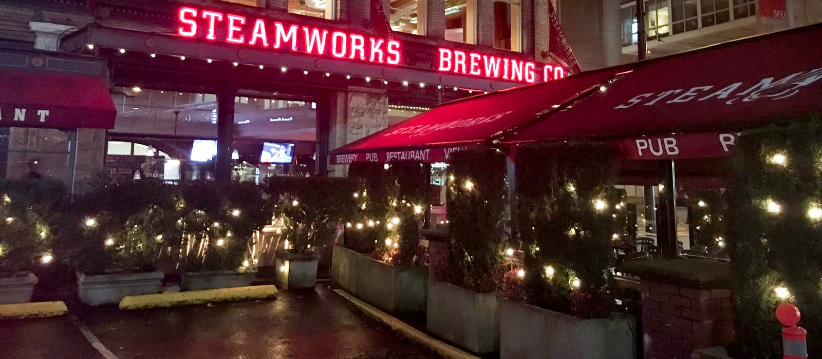Steamworks in Vancouver