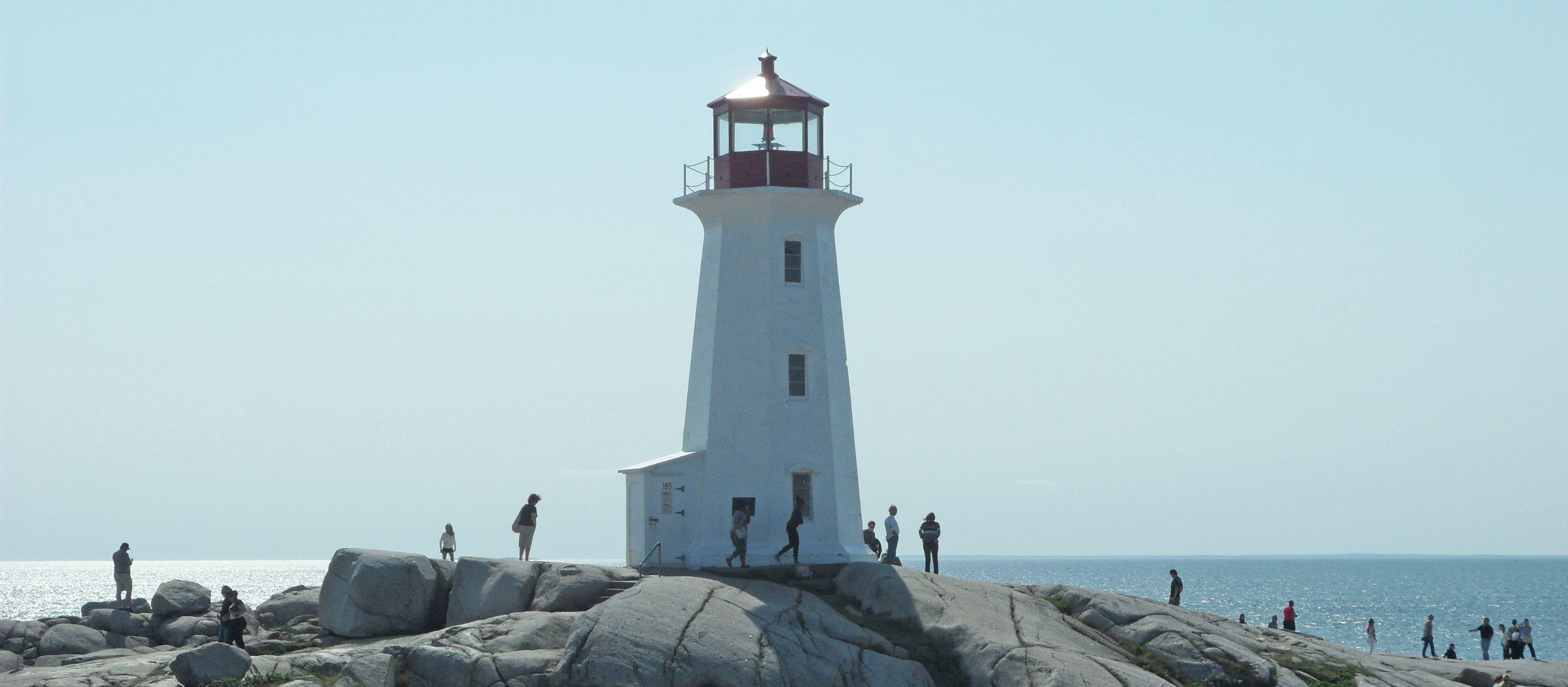 Peggy´s Cove in Nova Scotia