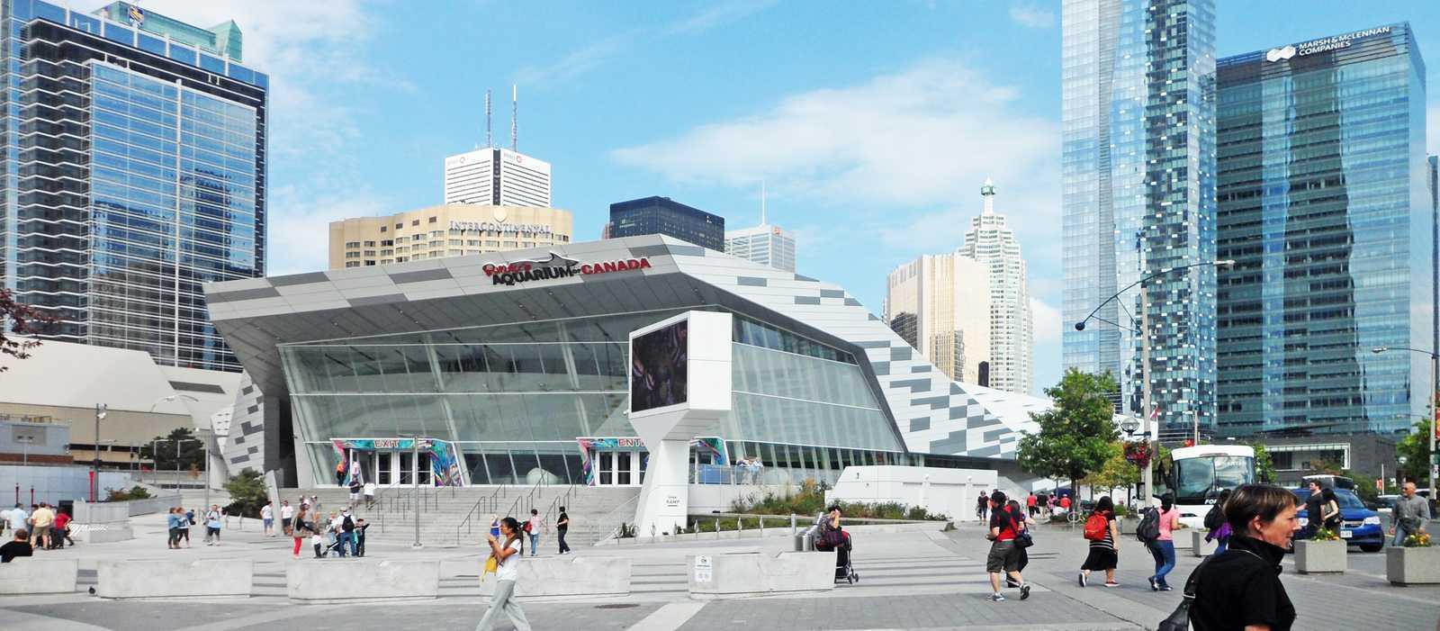Ripleys Aquarium in Toronto
