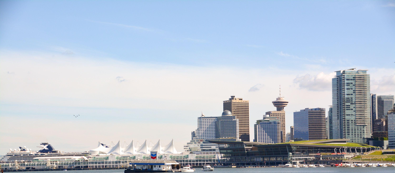Vancouver Lookout in der Skyline von Vancouver