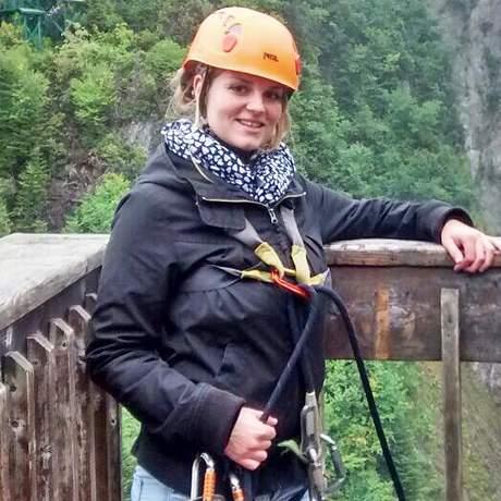Marble Zip Line bei den Steady Brook Falls ein Insidertipp von Maja Sebode CANUSA