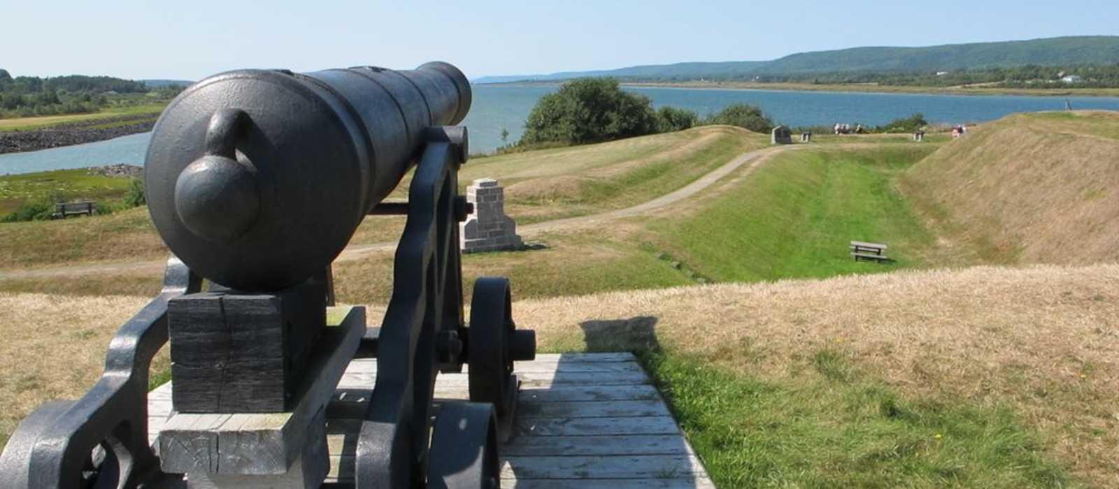 Kanone im Annapolis Royal