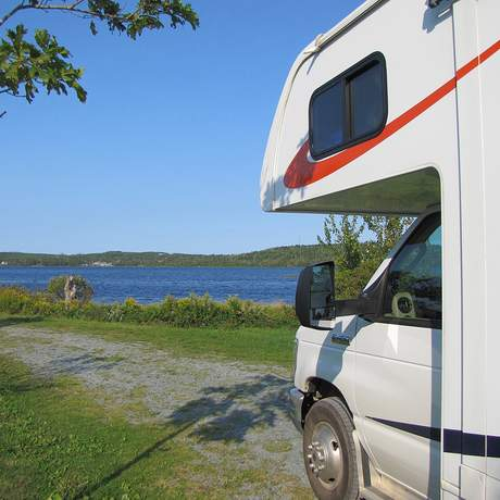 Campground am Porters Lake