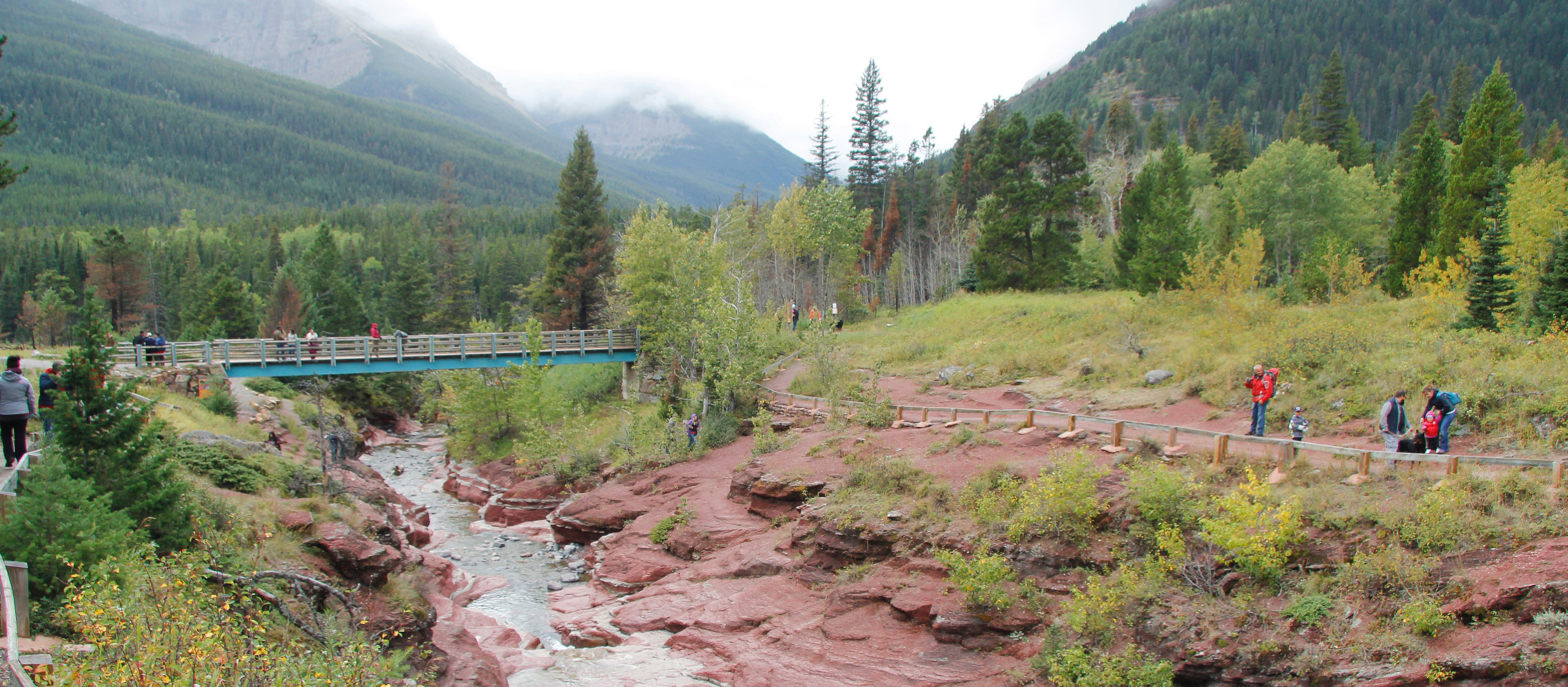 Red Rock Canyon in Alberta