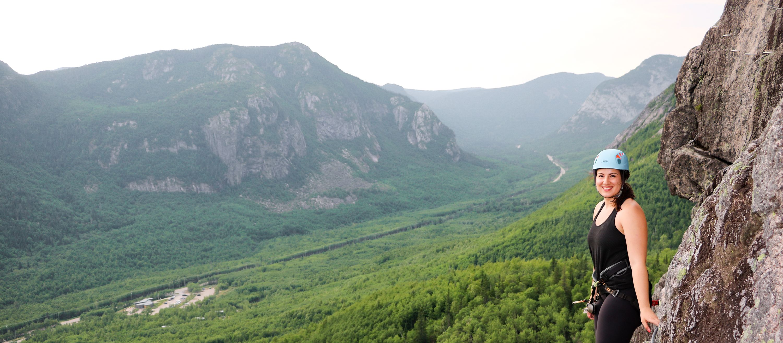 Via Ferrata im Grands-Jardins National Park