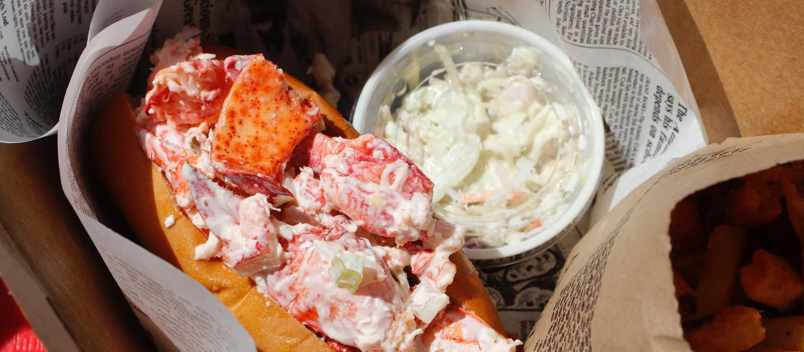 Die leckerste Lobster Roll auf Prince Edward Island