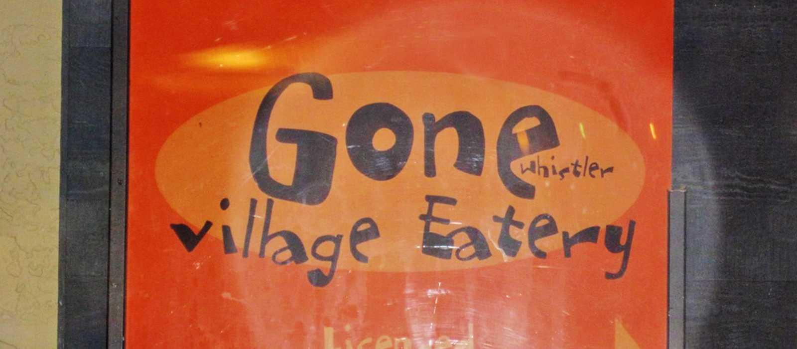 Gone Whistler Village Eatery