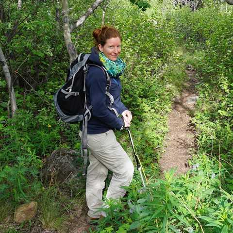 Insidertipp Odette Landmeier Sam Mc Gee Trail Carcross
