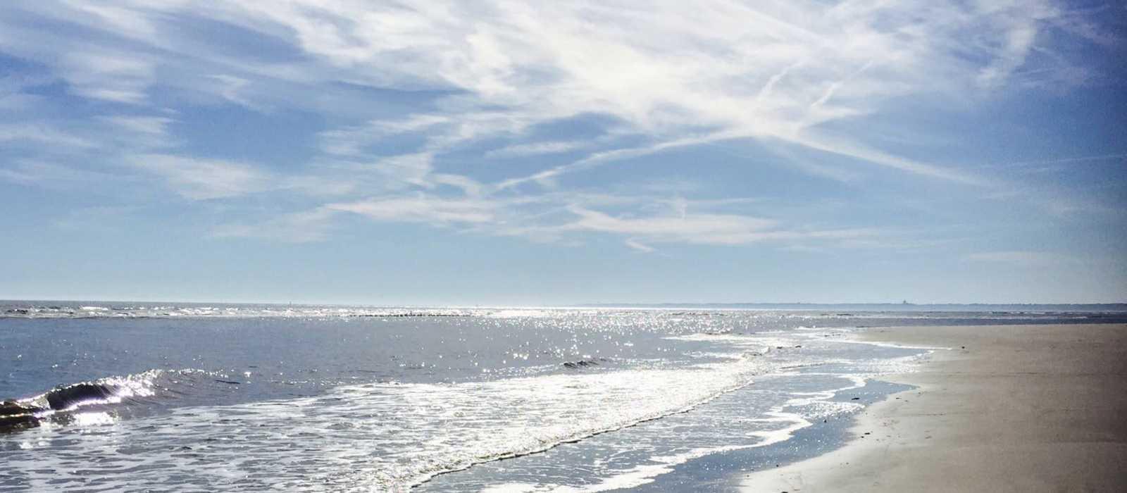 Strand auf St. Simons Island