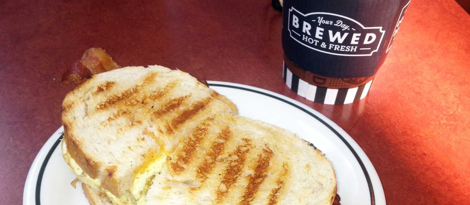 Frühstück im Corner Bakery Cafe