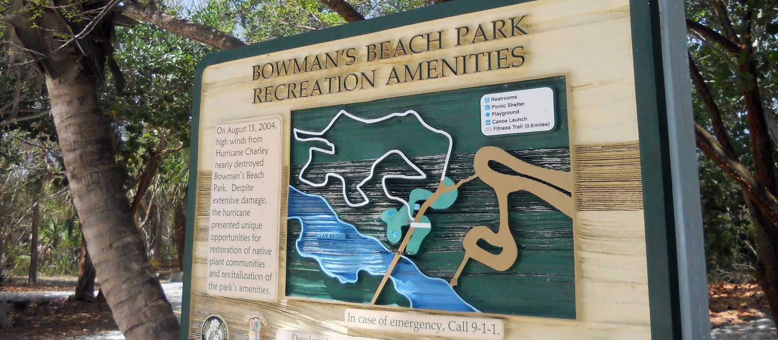 Bowmans Beach Park Übersicht