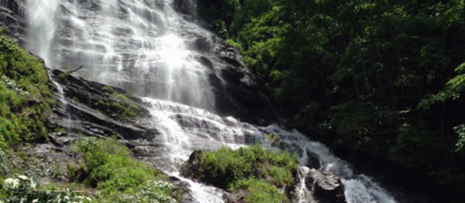 Wasserfall im Chattahoochee National Forest