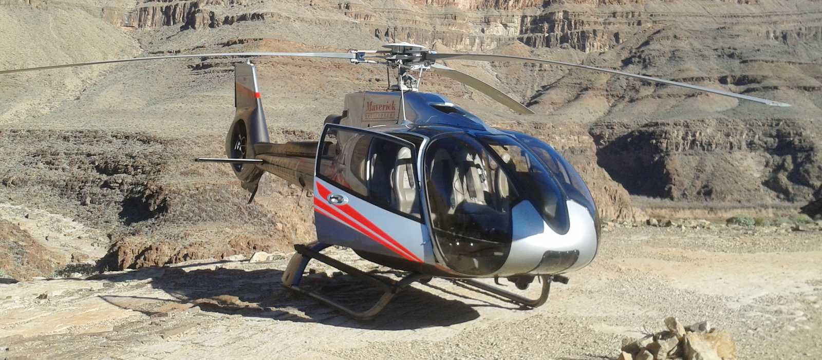 Maverick Helikopter im Grand Canyon