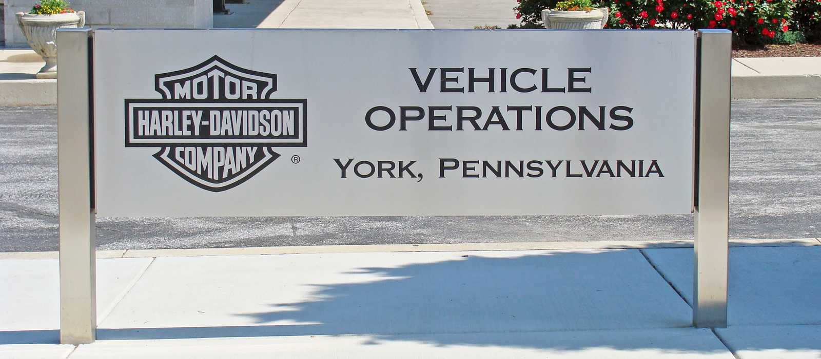 Harey Davidson Plant York, PA