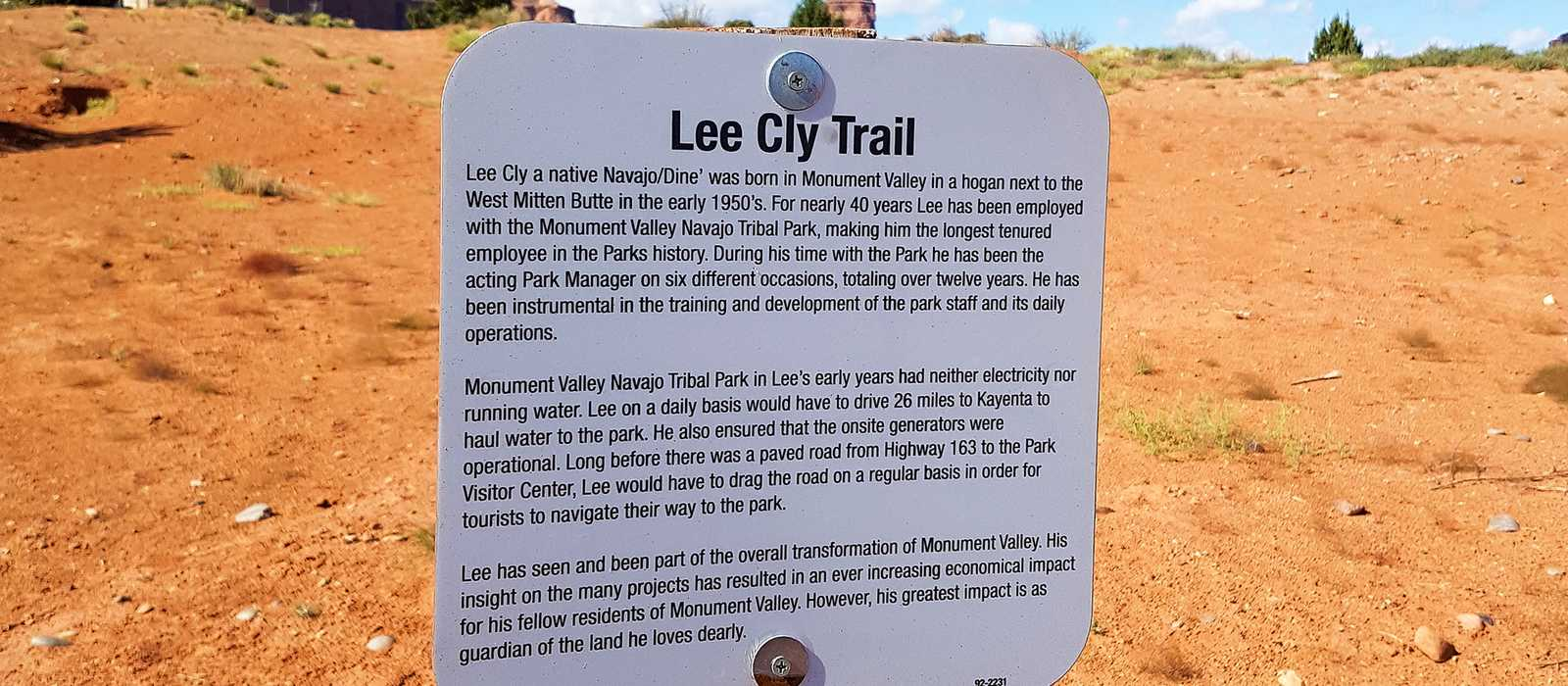 Lee Cly Trail