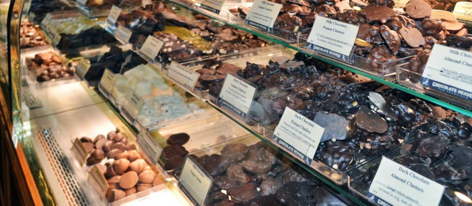 Schokolade aus der Frischetheke