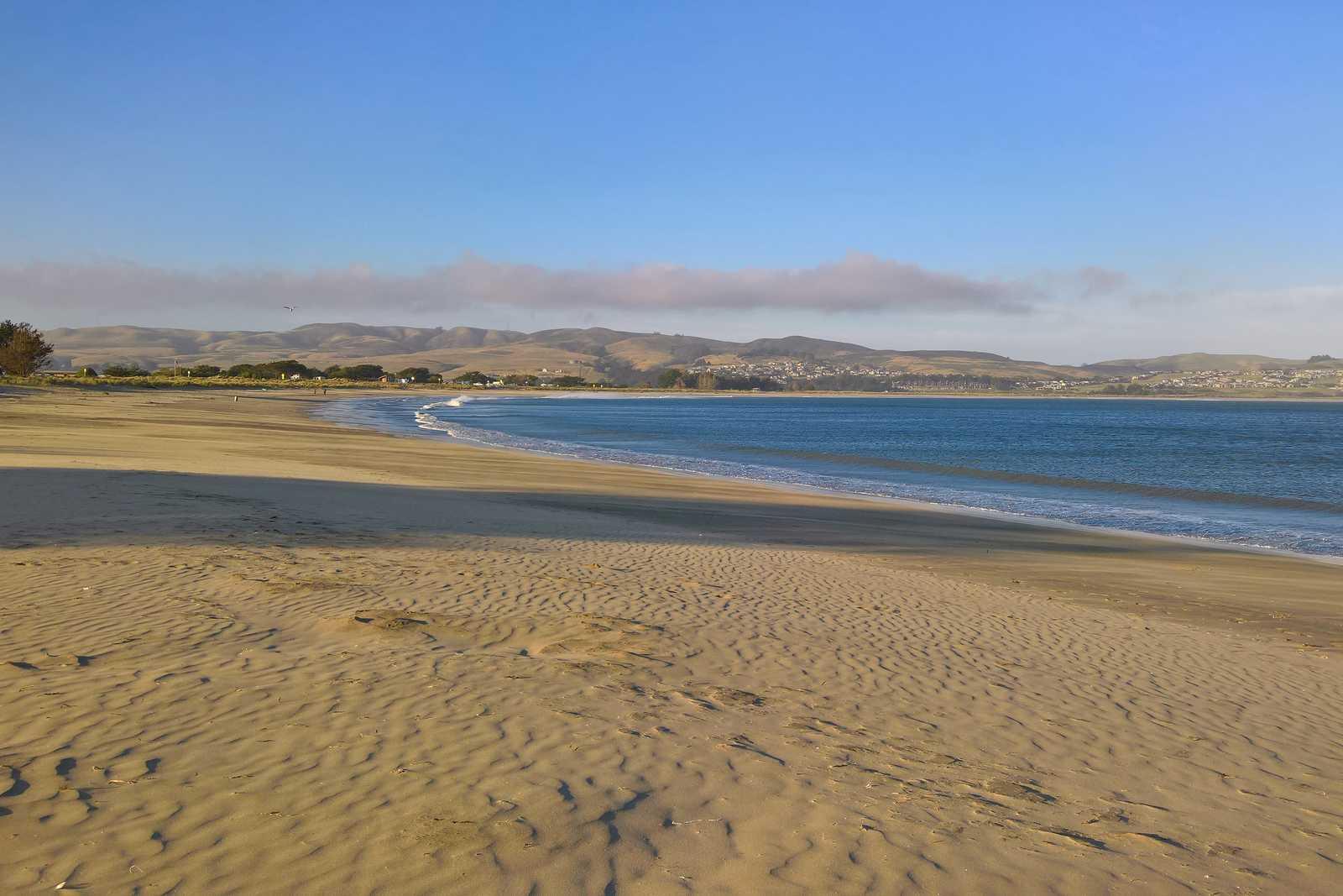 Der Strand am Doran Campground