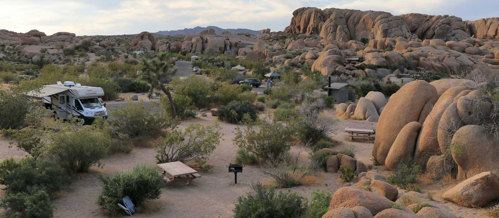 Jumbo Rocks Campground Joshua Tree NP