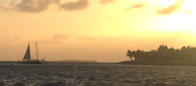 Blick vom Mallory Square in Key West