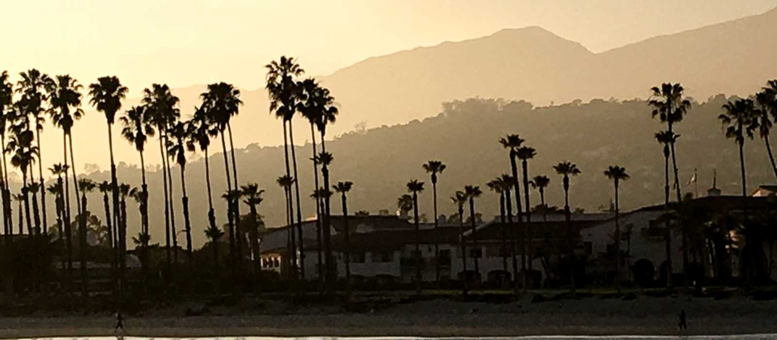 Blick auf die Küste von Santa Barbara