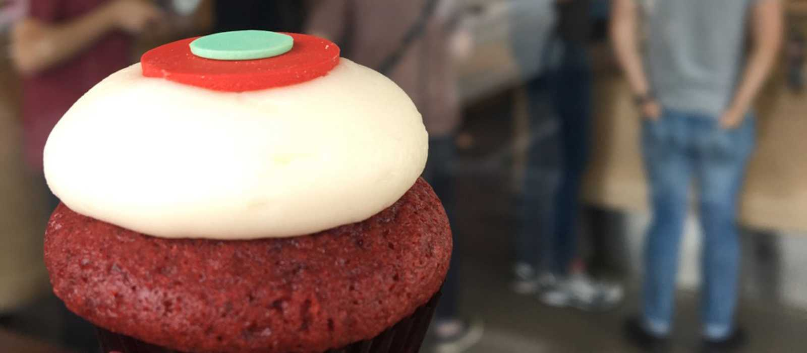 Cupcake bei Sprinkles