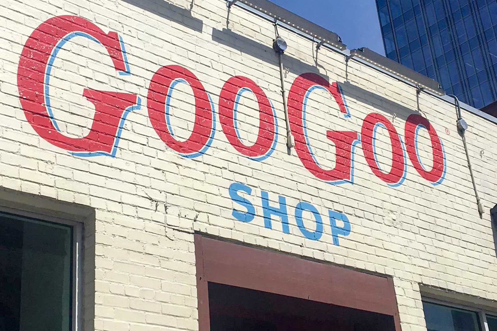 Der Süßwarenladen Goo Goo Shop in Nashville
