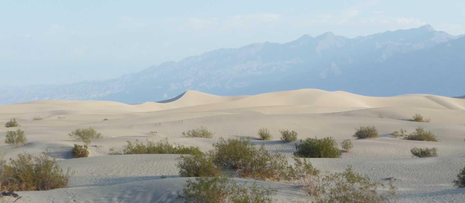Die Mesquite Flat Sand Dunes im Death Valley