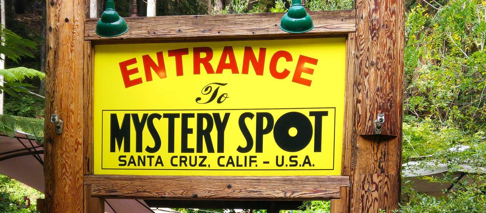 Entrance to Mystery Spot