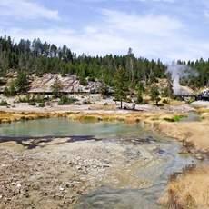 Schlammvulkan im Yellowstone Nationalpark