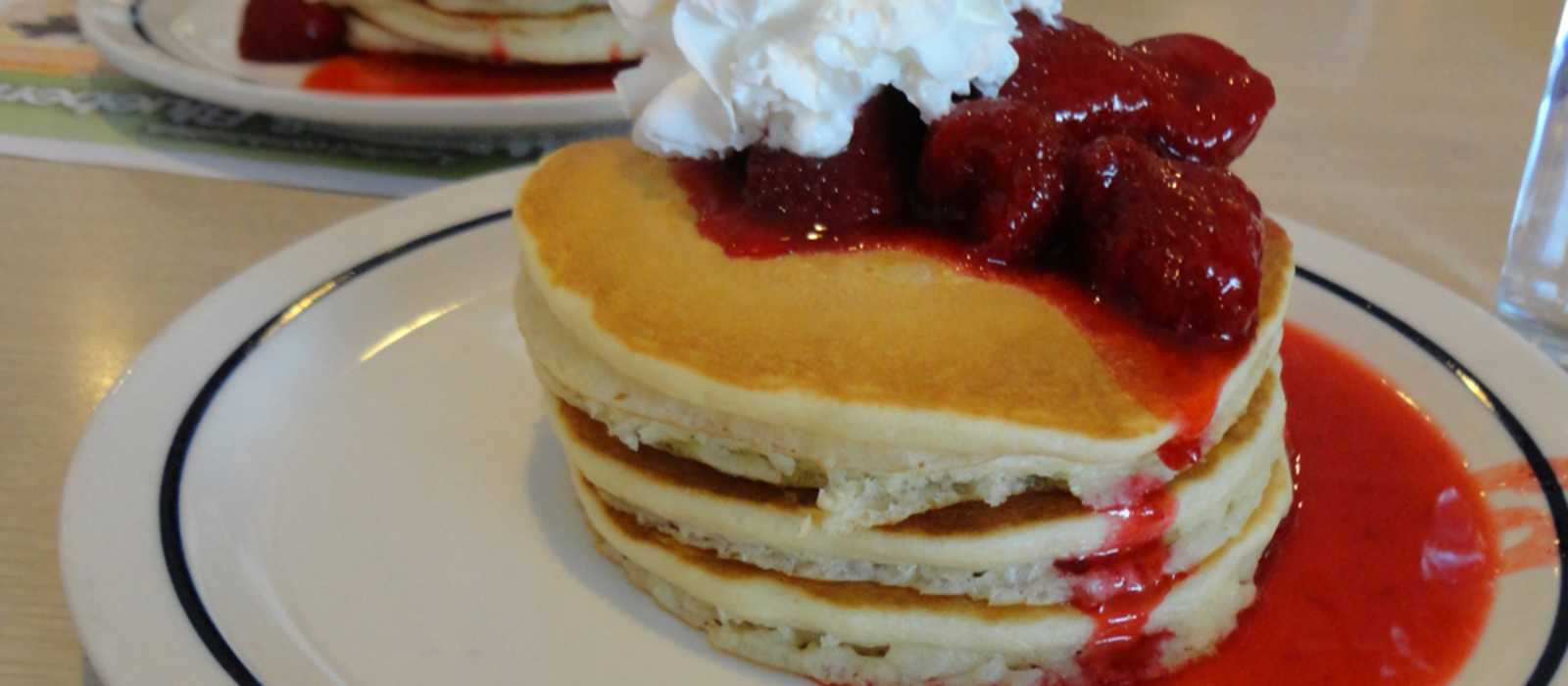 Leckere Pancakes im IHOP