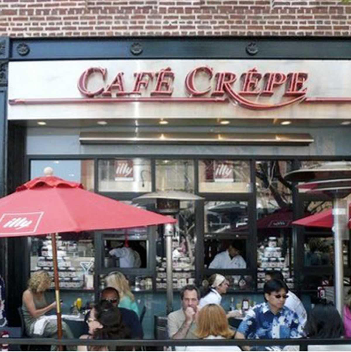 Cafe Crepe in Santa Monica