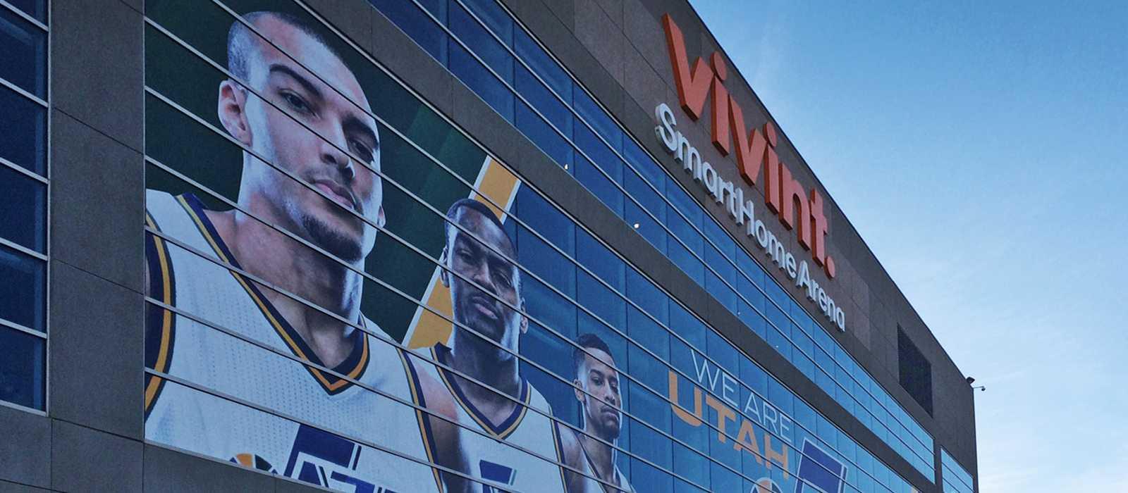 Die Arena in Salt Lake City