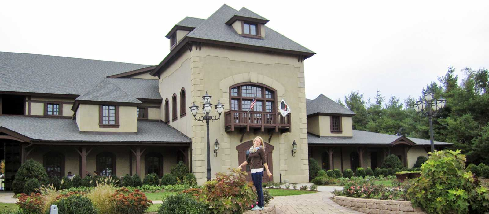 Die Virginia Chateau Morrisette Winery