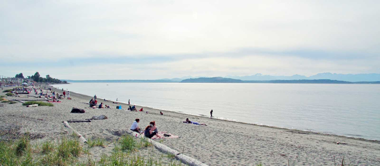 Strandtag am Alki Beach