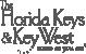 Logo der Florida Keys und Key West in anthrazit