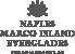 Logo von Naples, Marco Island und den Everglades in anthrazit
