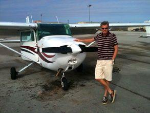 Die Cessna für das Island-Hopping auf den Bahamas