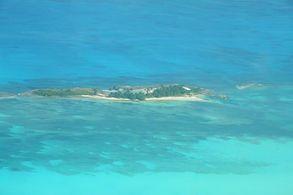 Blick auf Green Turtle Bay
