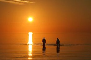 Sonnenuntergang auf den Bahamas