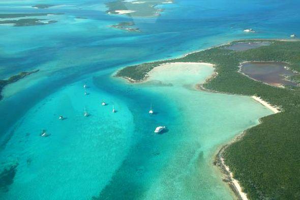 Die Exumas, Bahamas