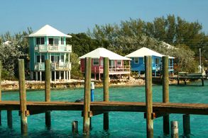 Hafen von Staniel Cay, Exumas