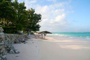 Der Strand von Cat Island, Bahamas