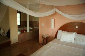 Die neue Unterkunft am Strand auf Andros